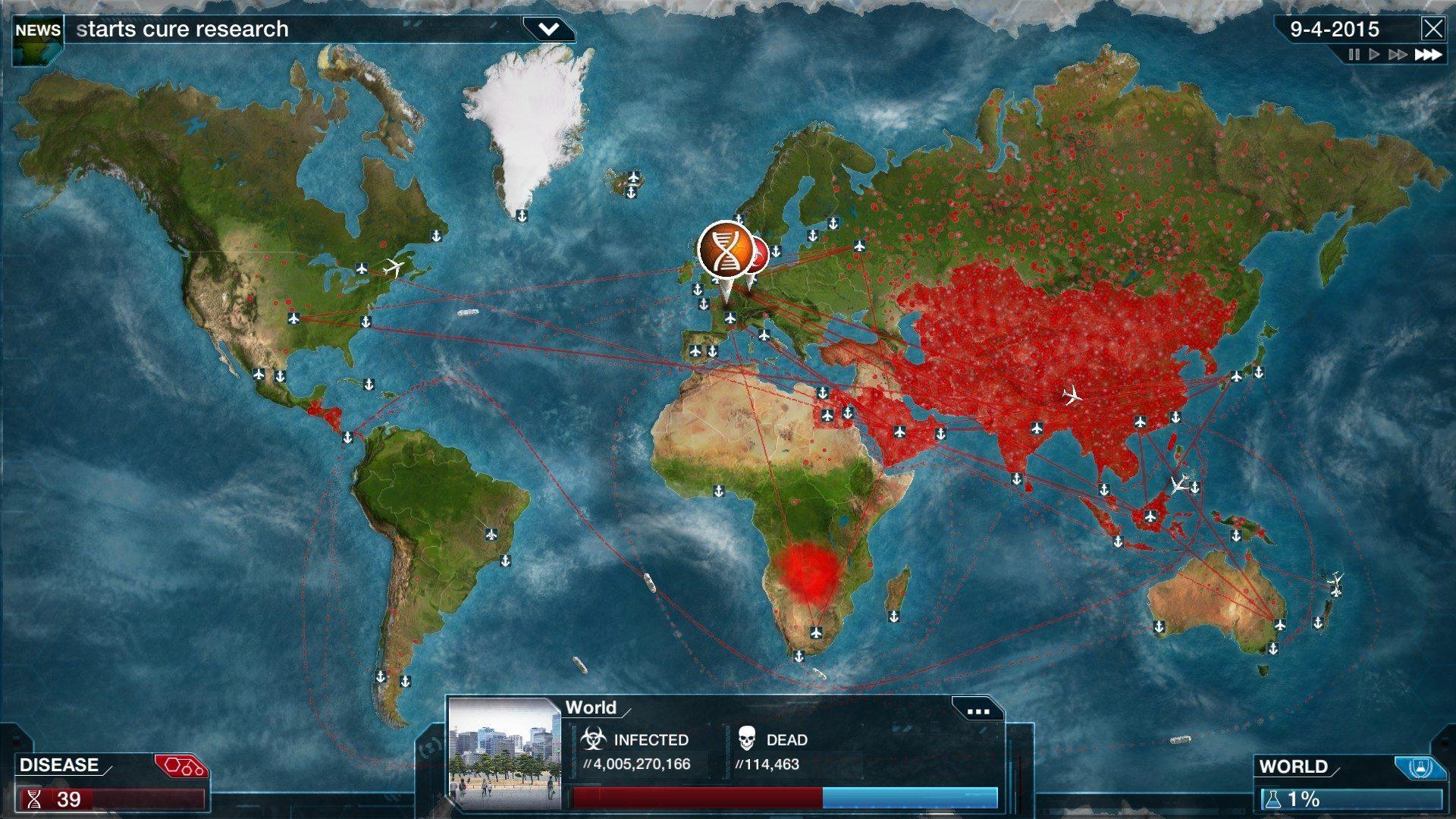 «Plague Inc: Evolved» – Hva kan du lære av å utrydde kloden for mennesker?
