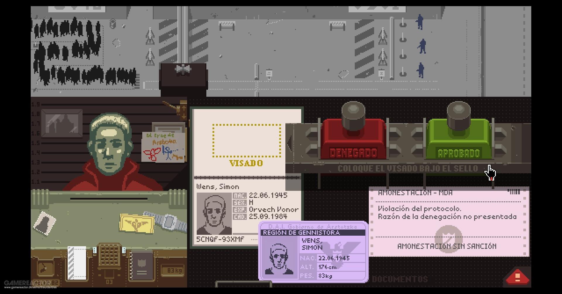 «Papers, Please» – En passkontrollørs hverdag