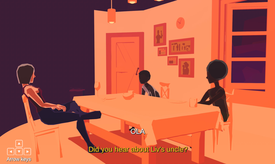 «The Outcast Lovers» – De to på øyen